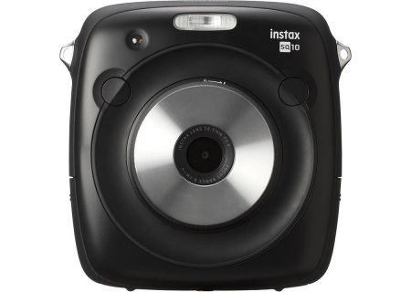 Fujifilm Instax Square 10 Black Hybrid Instant Camera - 600018496 & 6915