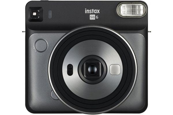 Fujifilm Instax Square SQ6 Graphite Gray Instant Film Camera - 16581472 & PRO1851