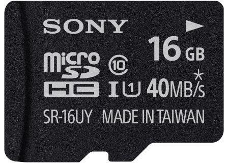 Sony - SR16UYA/TQMN - Memory Cards