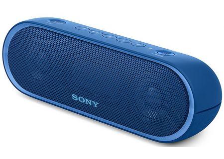 Sony - SRSXB20/BLUE - Bluetooth & Portable Speakers