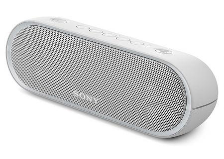 Sony - SRSXB20/WHT - Bluetooth & Portable Speakers