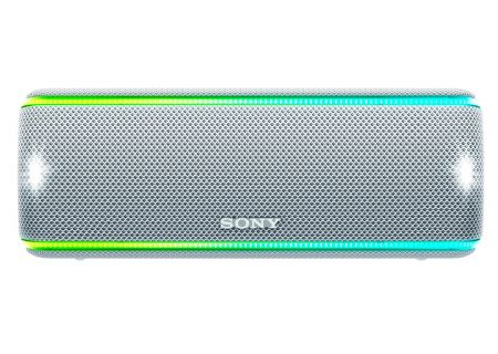Sony White Portable Wireless Bluetooth Speaker - SRSXB31/W