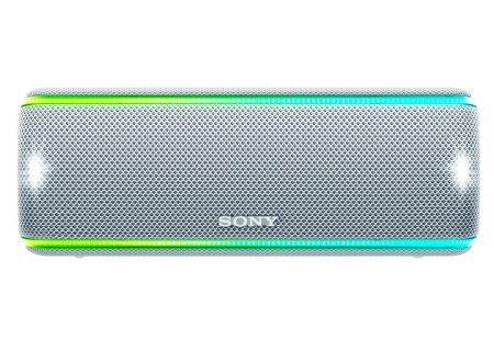 Sony - SRSXB31/W - Bluetooth & Portable Speakers