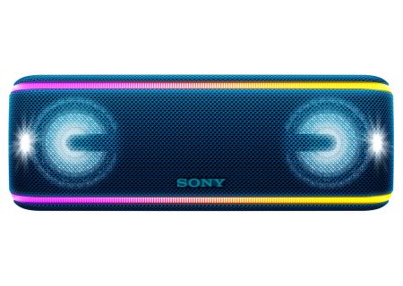 Sony Blue Portable Wireless Bluetooth Speaker - SRSXB41/L