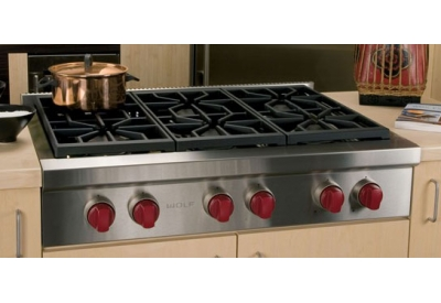 Wolf - SRT366 - Gas Cooktops