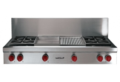 Wolf - SRT484CG - Gas Cooktops