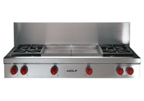Wolf - SRT484DG - Gas Cooktops