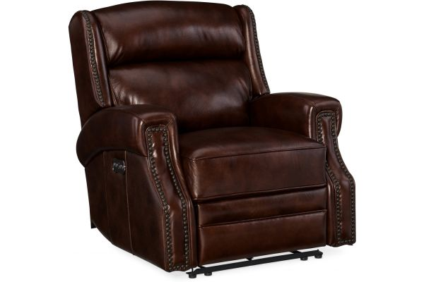 Hooker Furniture Living Room Carlisle Power Recliner With Power Headrest - SS460-PWR-188