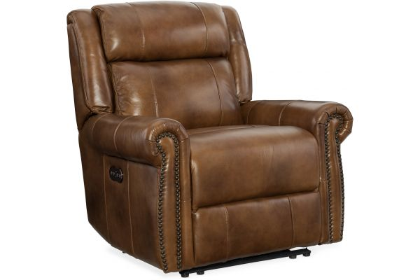 Large image of Hooker Furniture Living Room Esme Power Recliner With Power Headrest - SS461-PWR-185