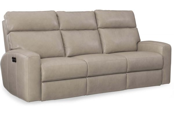 Large image of Hooker Furniture Living Room Mowry Power Motion Sofa With Power Headrest - SS462-P3-091