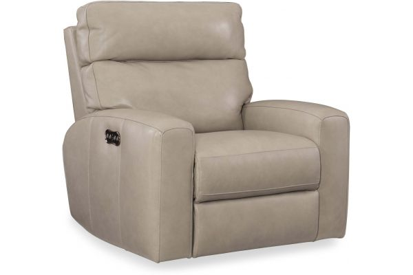 Large image of Hooker Furniture Living Room Mowry Power Motion Recliner With Power Headrest - SS462-PWR-091