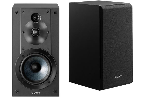 Sony Black 3-Way Bookshelf Speakers (Pair) - SS-CS5