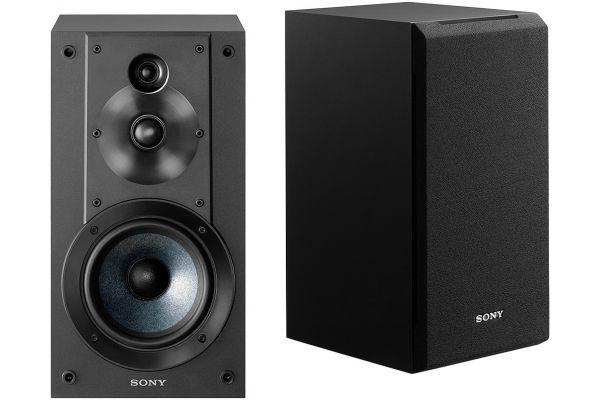 Large image of Sony Black 3-Way Bookshelf Speakers (Pair) - SSCS5