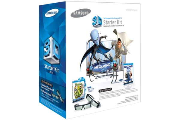 Samsung Shrek And Megamind 3D Starter Kit - SSG-P3100M