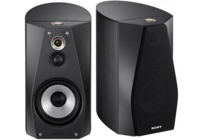 Sony Hi-Res Black Book Shelf Speakers - SS-HA1/B