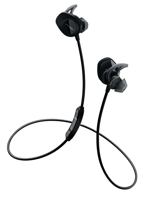 6e6a6c4fdb2 Bose Black SoundSport Wireless In-Ear Headphones - 761529-0010