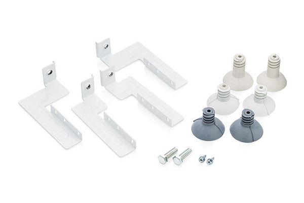 Large image of Frigidaire White Front-Load Laundry Stacking Kit - STACKIT24C