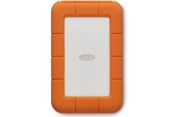 LaCie 2TB Rugged Secure USB-C Portable Hard Drive - STFR2000403