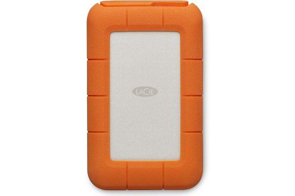 Large image of LaCie 4TB Rugged Thunderbolt USB-C Portable Hard Drive - STFS4000800