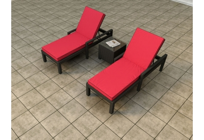 Parrot Island - STM-3CLS-EB-FB - Patio Seating Sets