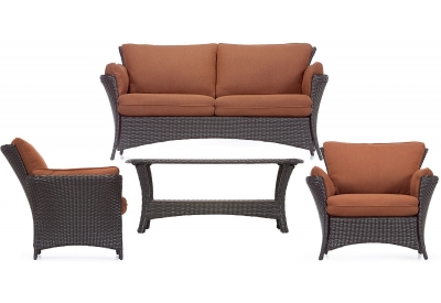 Hanover - STRATHALLURE4PC - Patio Furniture