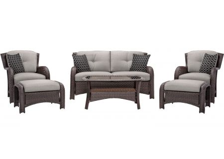 Hanover - STRATHMERE6PCSLV - Patio Seating Sets