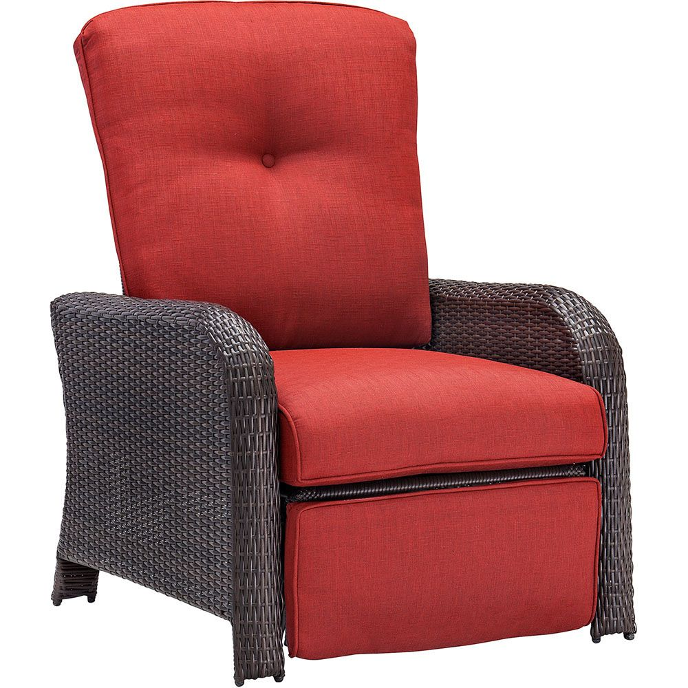 Hanover outdoor reclining arm chair strathrecred for Outdoor furniture big w