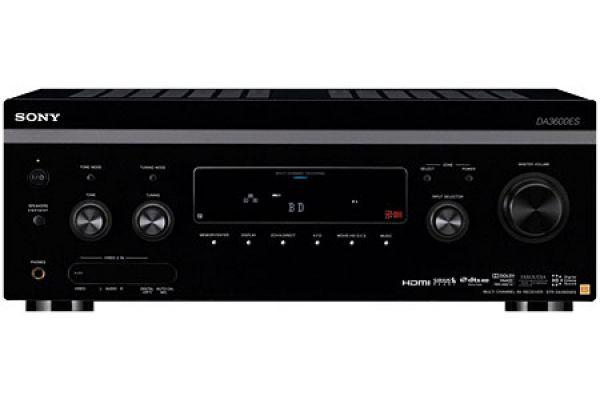 Large image of Sony ES 7.1 Channel Network Black AV Home Theater Receiver - STRDA3600ES