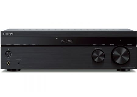 Sony Black 2 Channel Stereo Receiver - STR-DH190