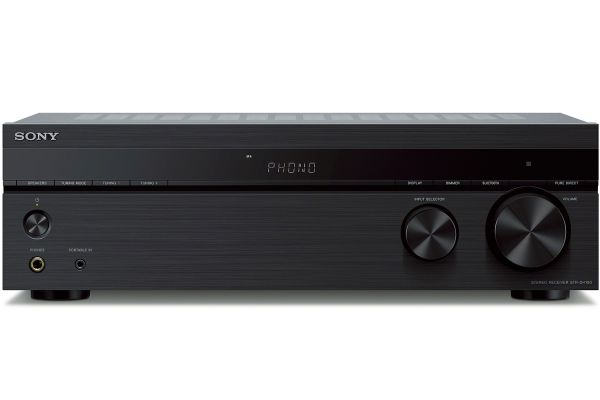 Large image of Sony Black 2 Channel Stereo Receiver - STRDH190