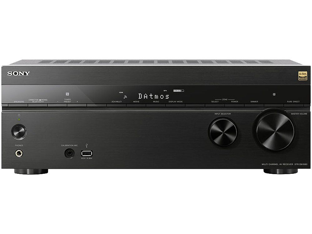 158510d8eab Sony Black 7.2 Channel 4K Home Theater AV Receiver - STR-DN1080