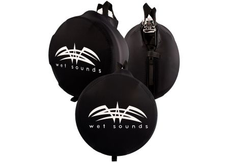 Wet Sounds Black Speaker Tower Speaker Covers - SUITZ10
