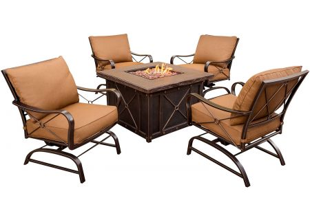 Hanover - SUMMRNGHT5PC - Patio Seating Sets