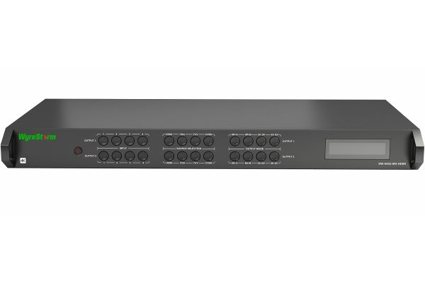 WyreStorm 4-Input (12 Source) Multi-View Scaler With 4K Output - SW-0402-MV-HDMI