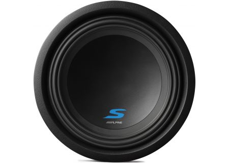 "Alpine S-Series 10"" Dual 4-Ohm Mobile Subwoofer - S-W10D4"