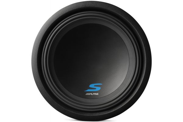 """Large image of Alpine S-Series 12"""" Dual 4-Ohm Mobile Subwoofer - S-W12D4"""
