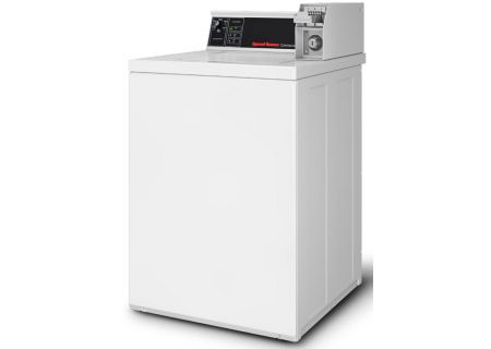 Speed Queen White Commercial Top Loading Washer - SWNSX2SP115TW02