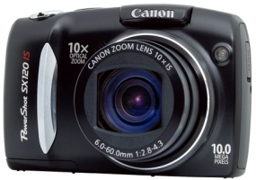 Canon - SX120IS - Digital Cameras