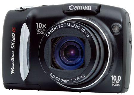 Canon - SX120IS - Digital Cameras