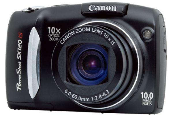 Canon PowerShot SX120 IS Black 10 Megapixels Digital Camera - SX120IS