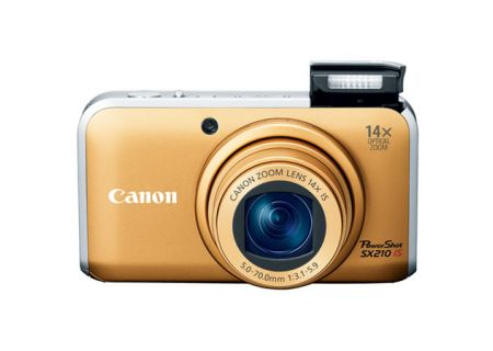 Canon - SX210 IS - Digital Cameras