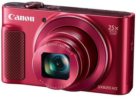 Canon PowerShot SX620 HS Red 20.2 Megapixel Digital Camera  - 1073C001