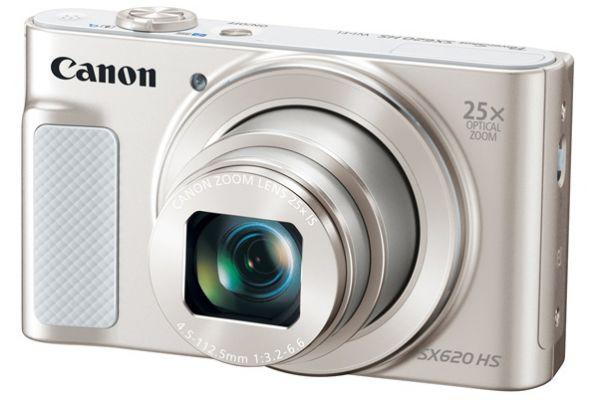 Canon PowerShot SX620 HS Silver 20.2 Megapixel Digital Camera  - 1074C001