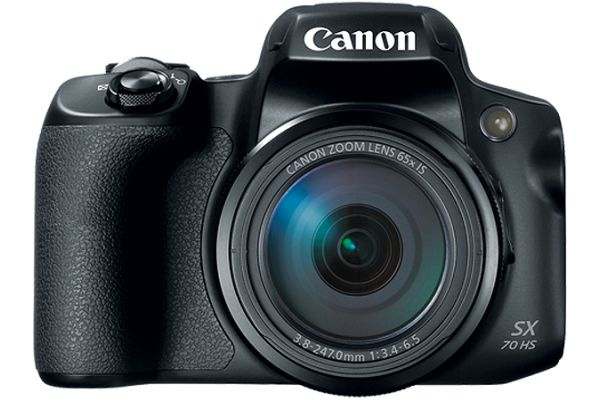 Large image of Canon PowerShot SX70 HS Black 20.3 Megapixel Digital Camera - 3071C001