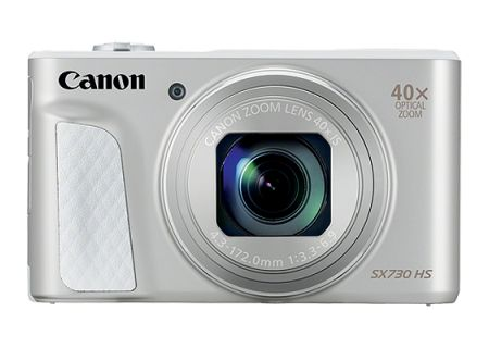 Canon PowerShot SX730 HS Silver 20.3 Megapixel Digital Camera - 1792C001