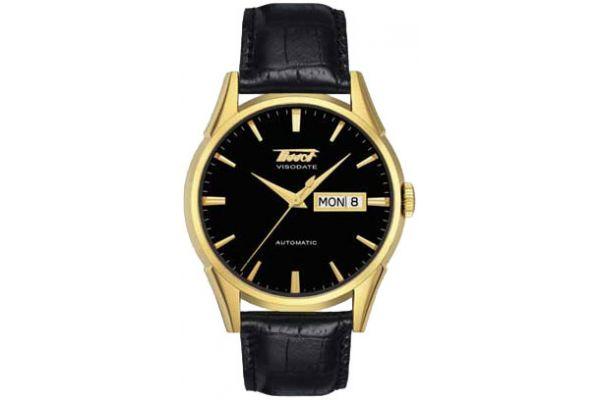 Large image of Tissot Black Visodate Automatic Mens Watch - T0194303605101