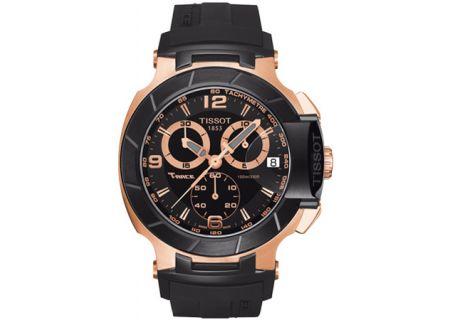 Tissot T-Race Black Dial Mens Watch - T0484172705706
