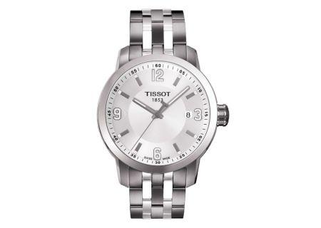 Tissot PRC 200 Stainless Steel Quartz Mens Watch - T055.410.11.017.00