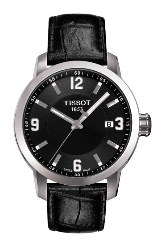 Tissot PRC 200 Quarts Mens Black Dial Watch - T0554101605700