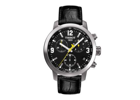 Tissot PRC 200 Quarts Chronograph Mens Black Dial Watch  - T0554171605700